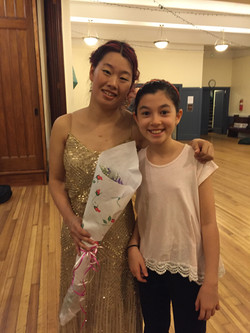 With sweet girl Chloe, May 2016