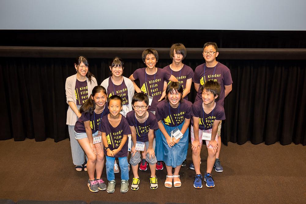 第23回京都国際子ども映画祭の集合写真