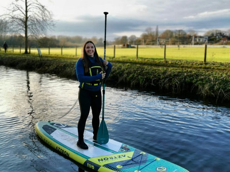 Stand-Up Paddleboarding Winter Mode