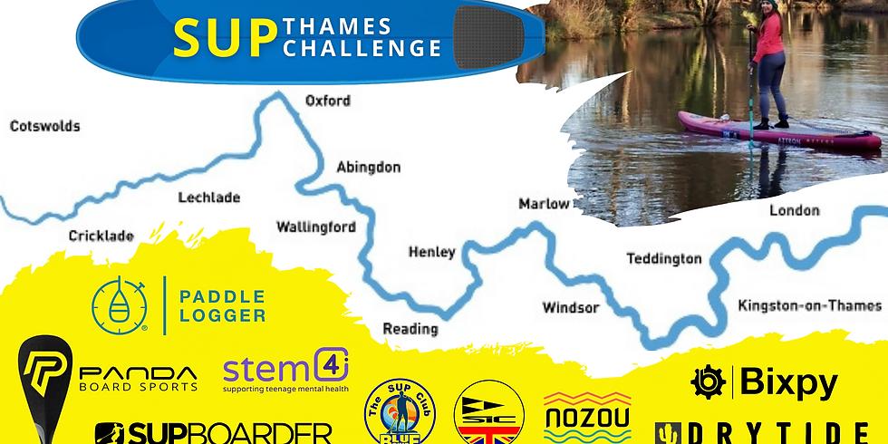 SUP Thames Challenge - Day 8