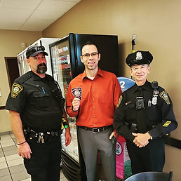 Norwalk Coffee with a Cop