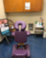 Massage Station at Ponus Ridge Middle Sc