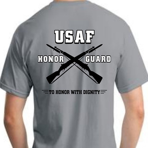USAFHG TO HONOR WITH DIGNITY T-SHIRT