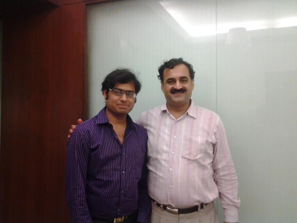 with Mr. Adv. Pawan Duggal