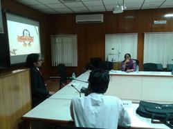 Sai Sushanth addressing Corporates