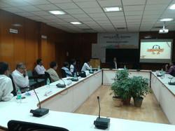 Sai Sushanth speaking @ Conference