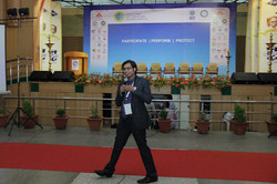 At a Cyber Session , Coimbatore