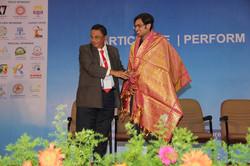 Felicitation of Mr. Sai Sushanth