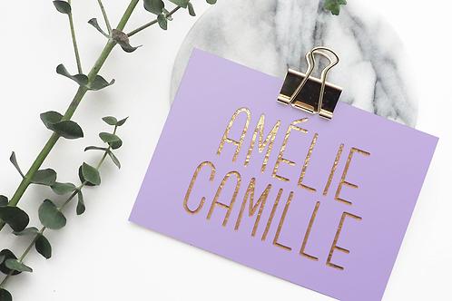 Amelie Camille Font & Commercial License