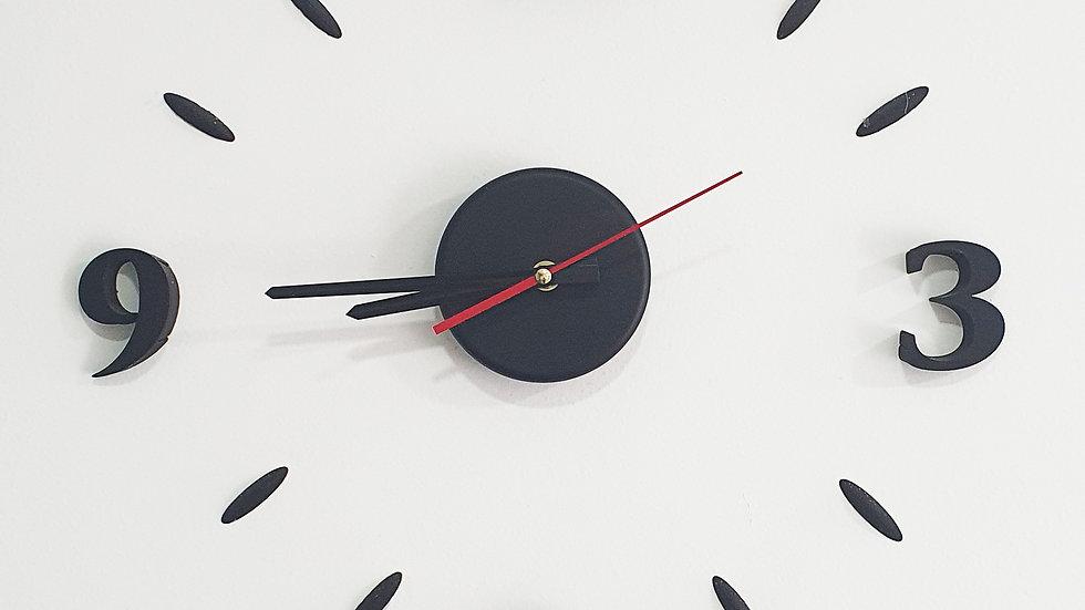 Reloj de pared en 3D