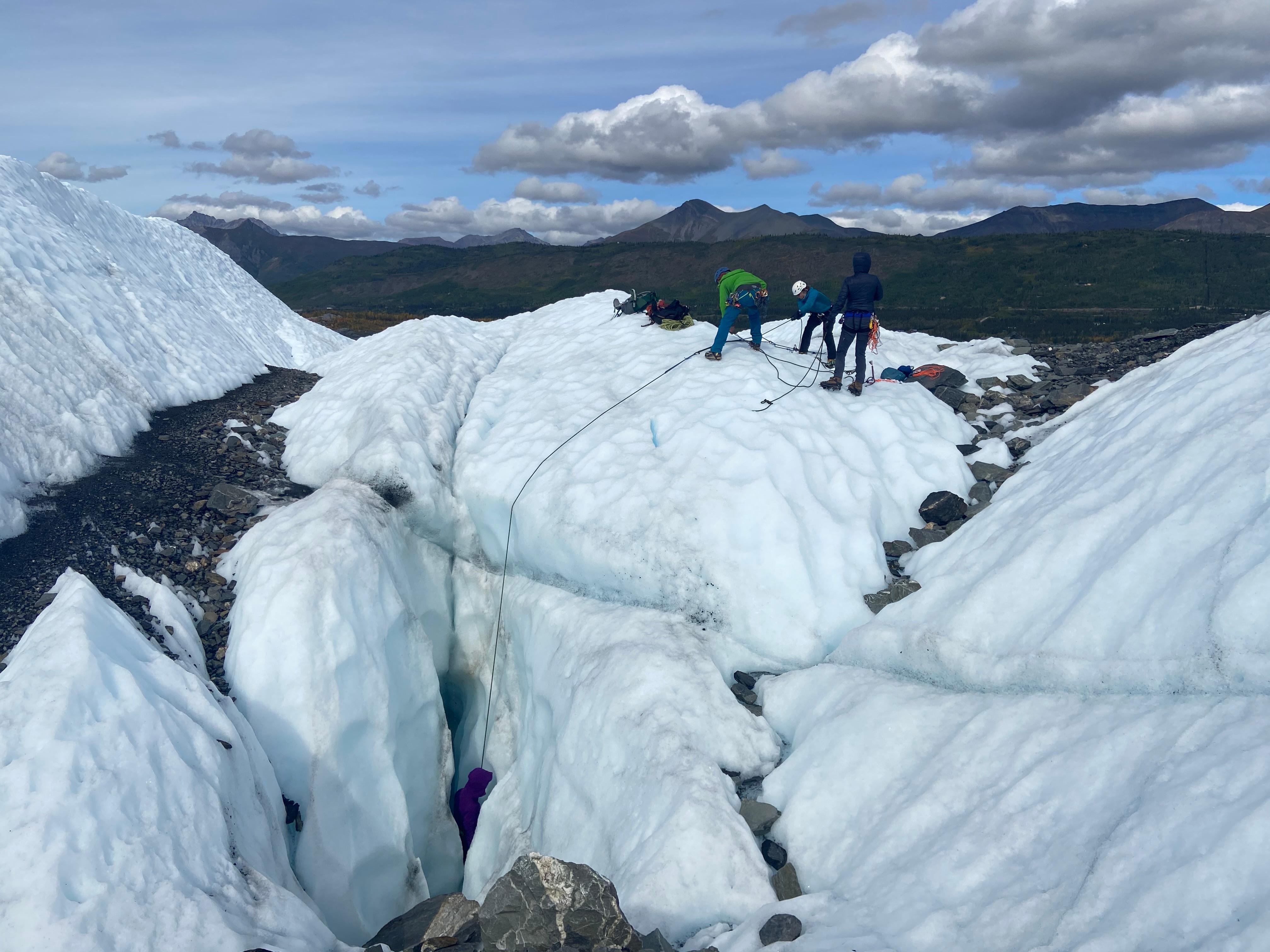 Glacier Travel & Crevasse Rescue Course