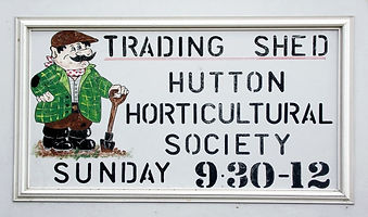 Hutton Horticultural Society Trading Shed