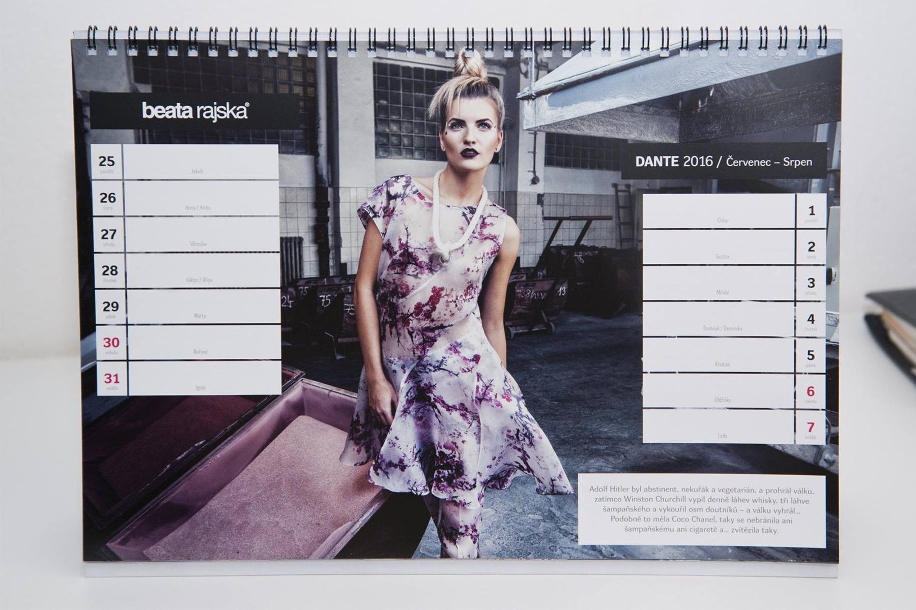 Calendar 2016 BEATA RAJSKA