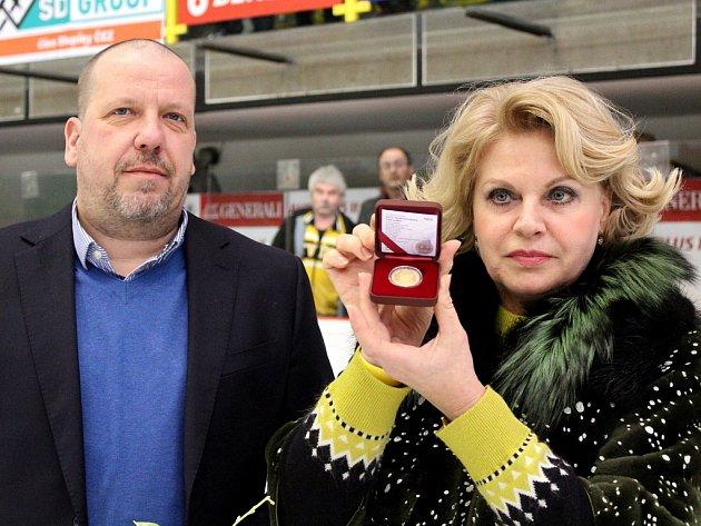 Zlatá mince Ivana Hlinky