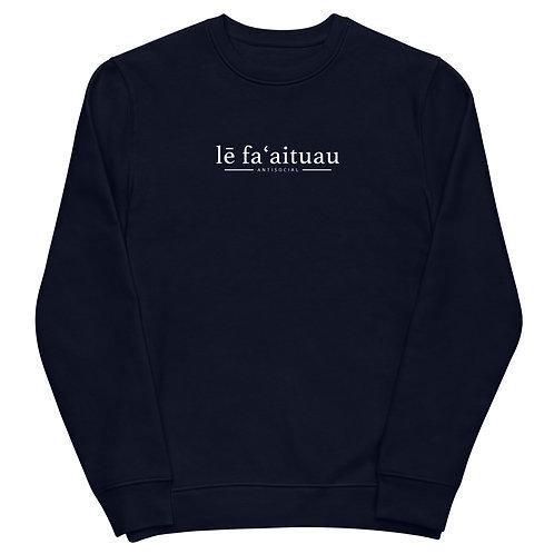 lē faʻaituau Unisex sweatshirt