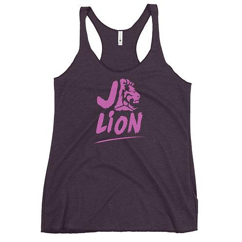 JD Lion Women's Racerback Tank
