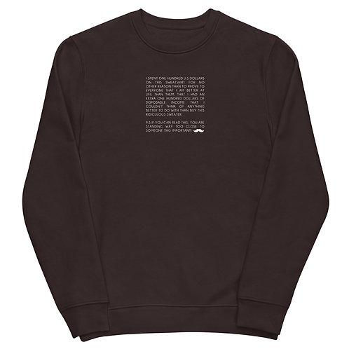 Snob Unisex sweatshirt