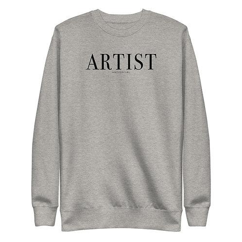 A R T I S T Unisex Fleece Pullover