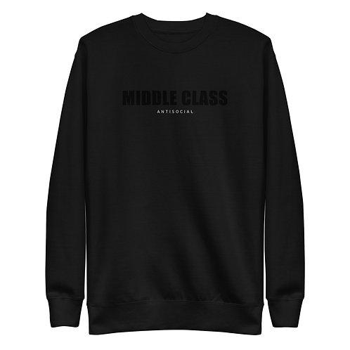 Middle Class Unisex Fleece Pullover