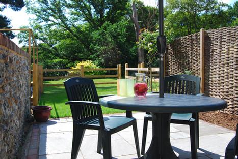 Enclosed Garden and Patio