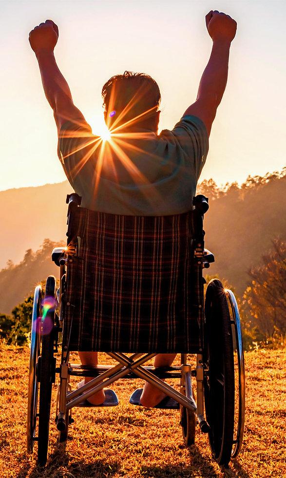 Rollstuhl Happy