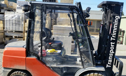 forklift clears