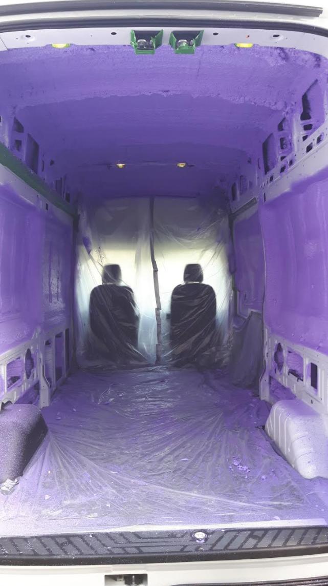 WALLTITE Purple URETHANE Cargo Van