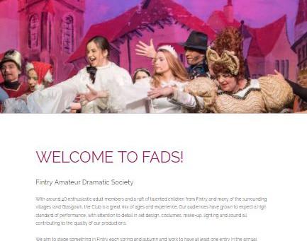 Online facelift for FADS!