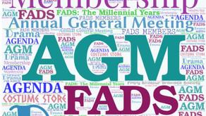 AGM & Membership reminder...