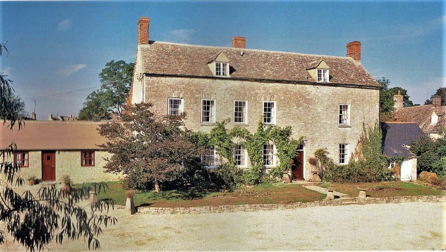 The family home at Manor Farm