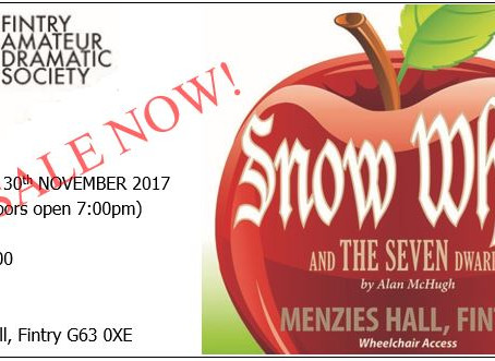 Panto tickets now available online!