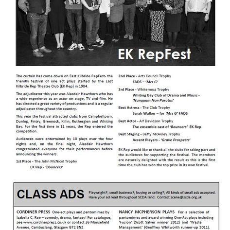 EK RepFest results