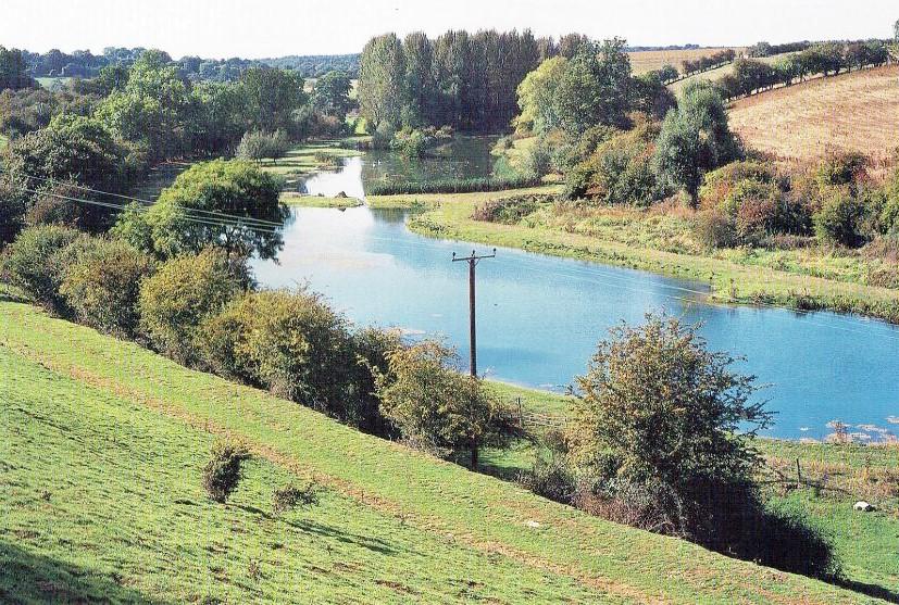 The lake at Manor Farm
