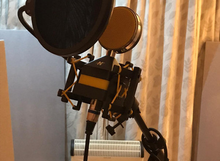 Just look at our lovely new mics!