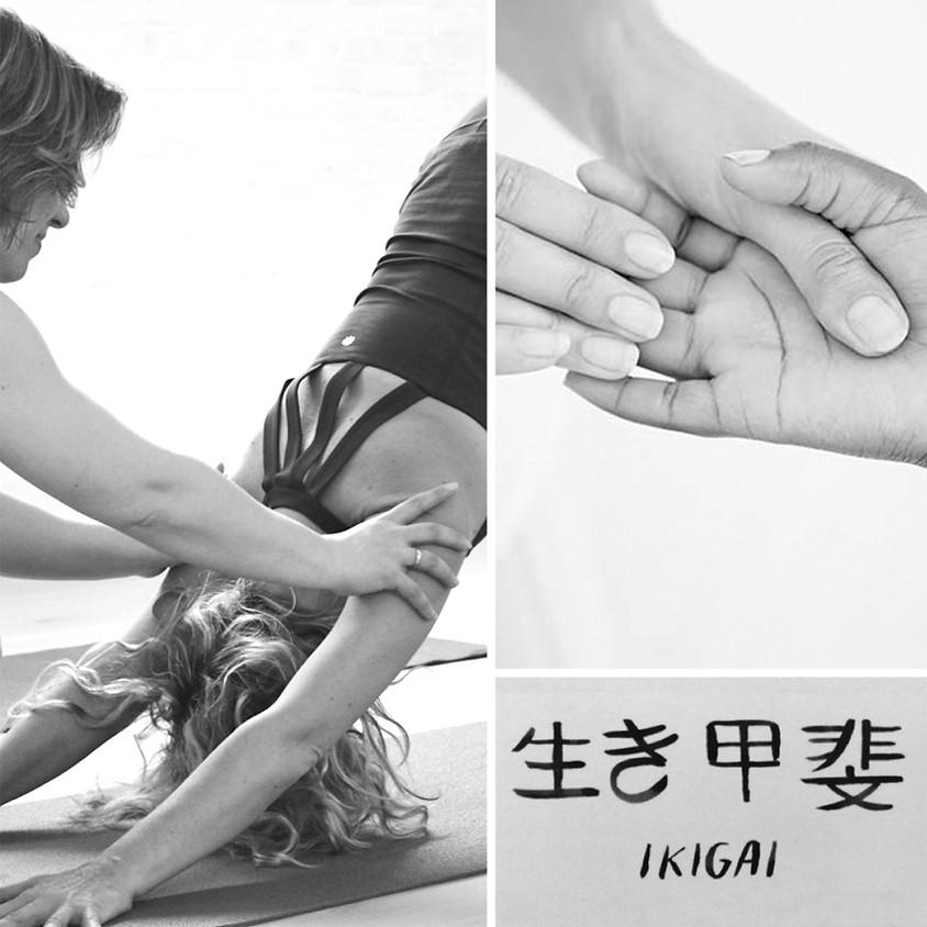 Stilte in het park: Yoga, Massage, Ikigai   LICHAAMSWERK