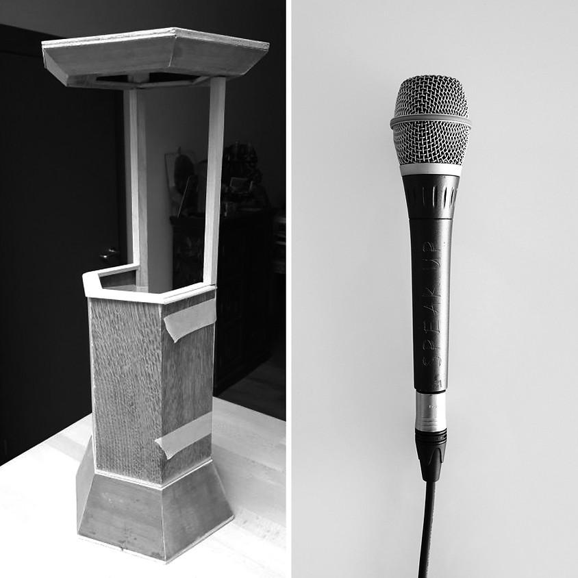 (On)gehoord in de stad: Speak up! | SPEAKERS CORNER