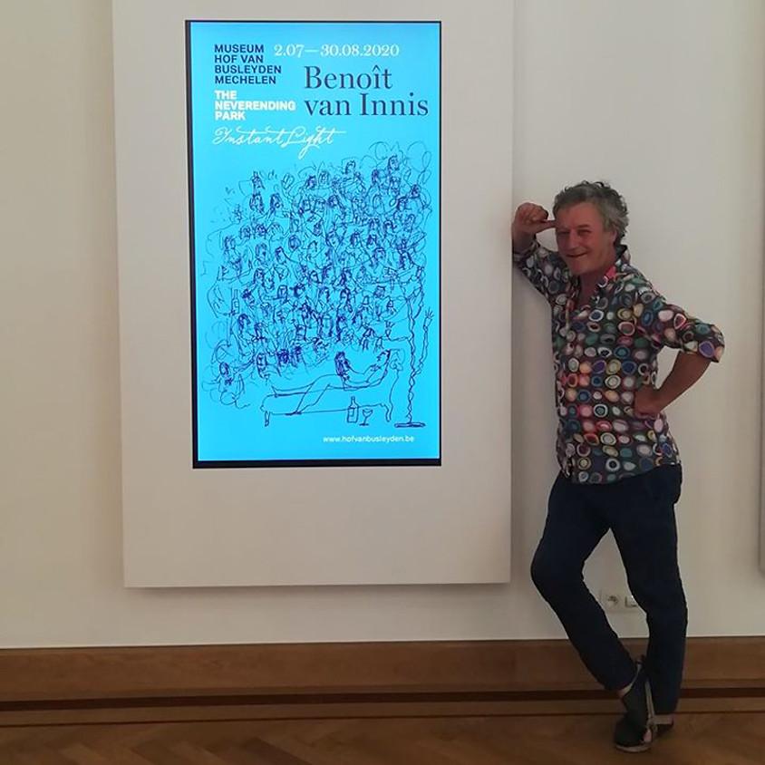 Artist Talk Benoît van Innis - Ann Meskens interviewt de kunstenaar