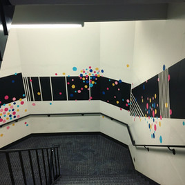 MLB Stairwell Dots