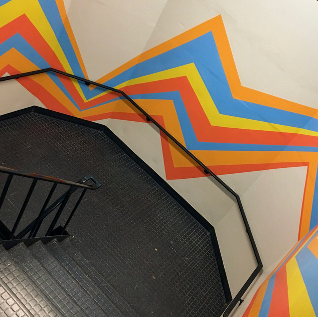 MLB Stairwell Lines