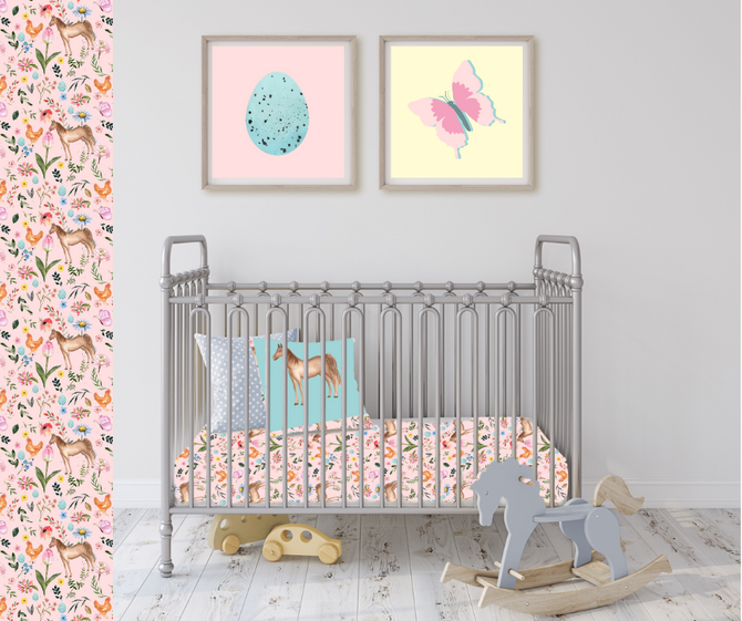 fluffy layers country themed nursery
