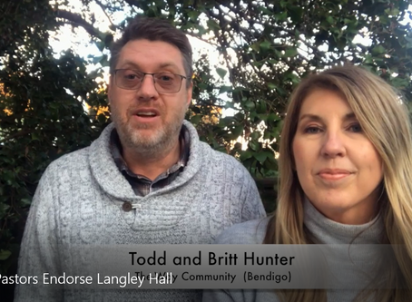 Langley Hall Update - we are believing for a miracle