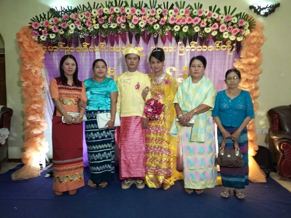 myanmar-traditional-wedding-dress