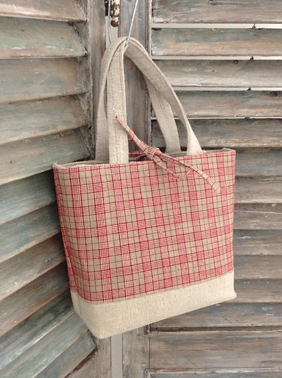 Sold Classic French Textile Martha Bag