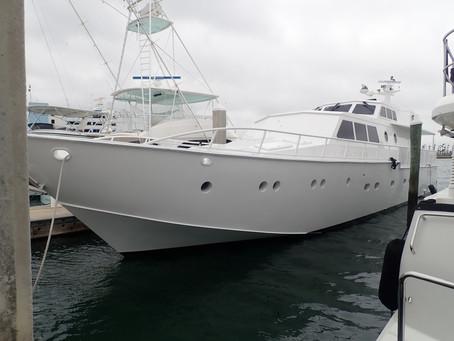 Marine Survey: Baglietto 81' Custom Aluminum Hull Luxury Yacht