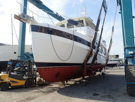 Marine Survey: Kadey-Krogen 48' Whaleback Trawler Liveaboard