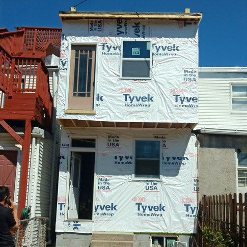 2 story house addition