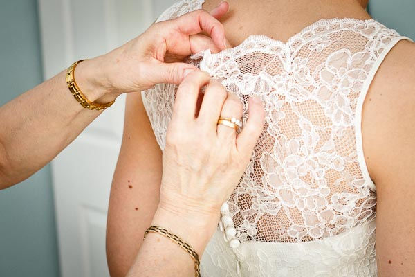 Initial Wedding Dress Alteration Consult