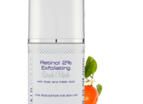 Retinol Exfoliating Scrub/Mask
