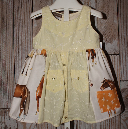 Yellow Rose of Texas Dress