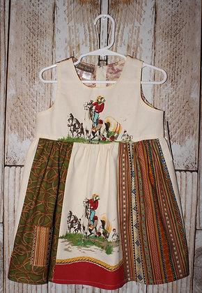 Wagon train West dress